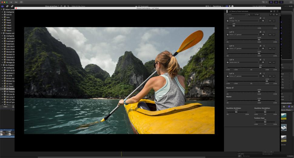 Picture Instruments - Screenshots: LUT Mixer